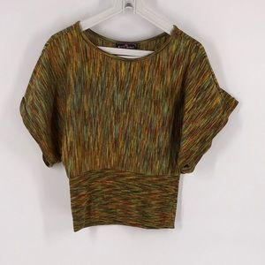 Almost Famous Dolman Sleeve Fall Top XL